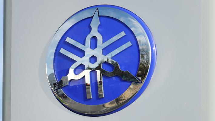 Yamaha 3D moulded acrylic logo