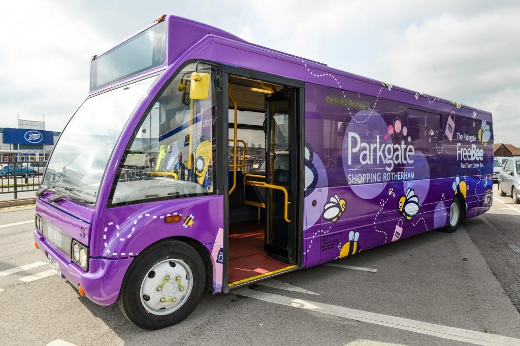 Parkgate Bus Wrap 1