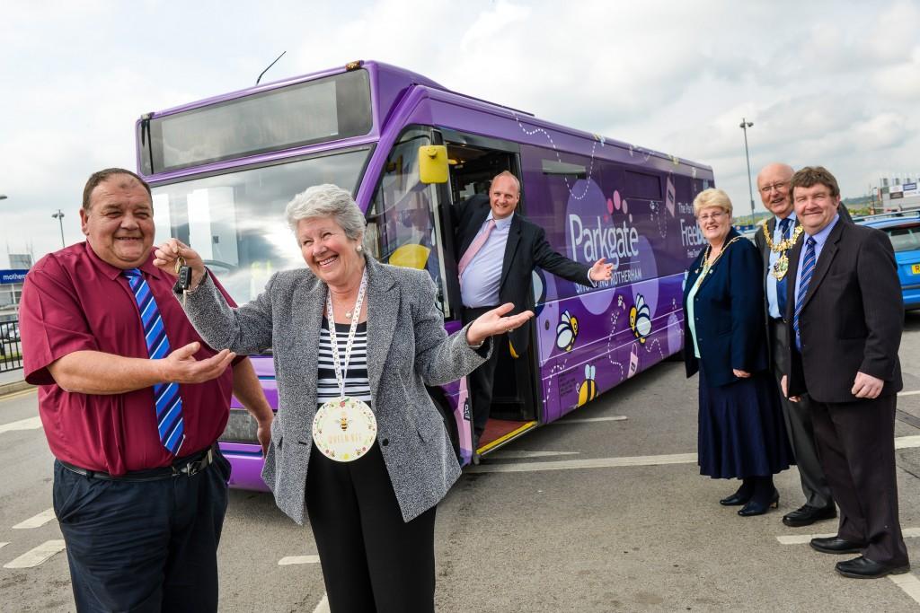 Parkgate Bus Wrap 2