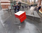 1 bespoke wayfinding street cube